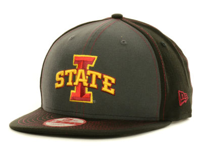 Iowa State Cyclones New Era NCAA Gray Black Pop 9FIFTY Snapback Cap