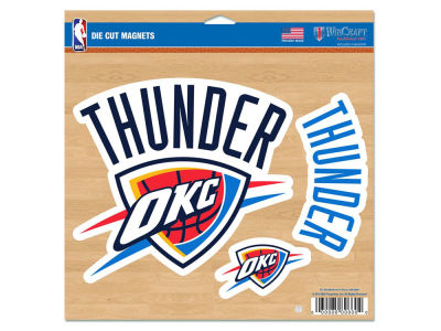 Oklahoma City Thunder Fan Magnets