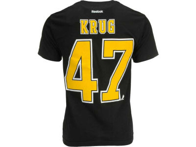 Boston Bruins Torey Krug Reebok NHL Men's Player T-Shirt