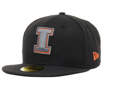 Illinois Fighting Illini New Era NCAA BGP 59FIFTY Cap