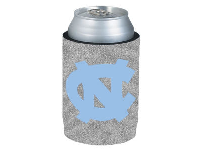 North Carolina Tar Heels Glitter Can Coozie