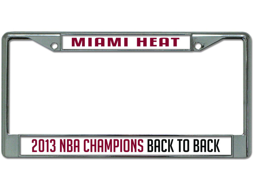 Miami Heat NBA 2013 Champs Acrylic Laser Frame | lids.com
