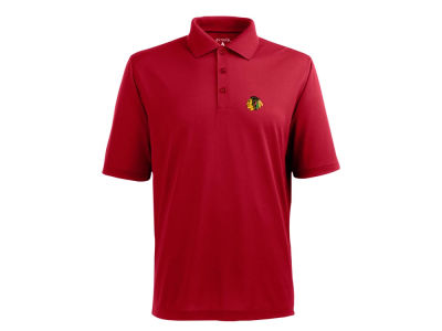 Chicago Blackhawks NHL Pique Xtra Lite Polo