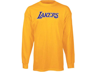 Los Angeles Lakers adidas NBA Dime Long Sleeve T-Shirt