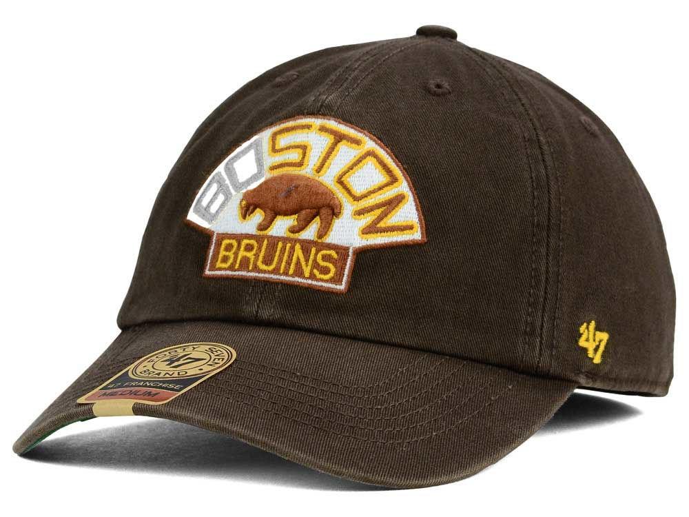d456bb927aa Boston Bruins  47 NHL Vintage  47 FRANCHISE Cap