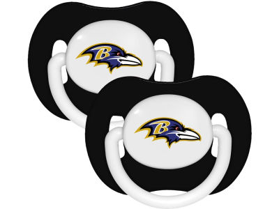 Baltimore Ravens 2-pack Pacifier Set