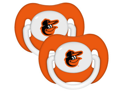 Baltimore Orioles 2-pack Pacifier Set