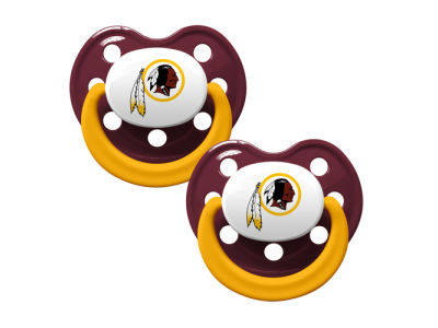 Washington Redskins 2-pack Pacifier Set