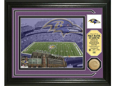 Baltimore Ravens Photo Mint Coin-Bronze