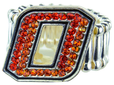 Oklahoma State Cowboys Crystal Logo Ring