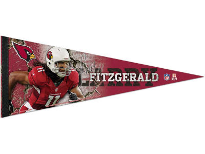Arizona Cardinals Larry Fitzgerald 12x30 Premium Player Pennant