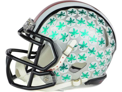 Ohio State Buckeyes Chrome Mini Helmet
