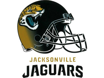 Jacksonville Jaguars Static Cling Decal