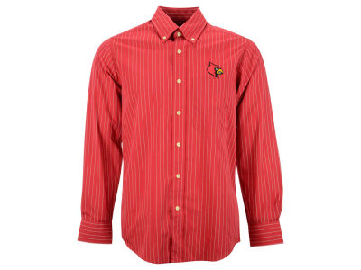 Louisville Cardinals NCAA Achieve Button Down Woven