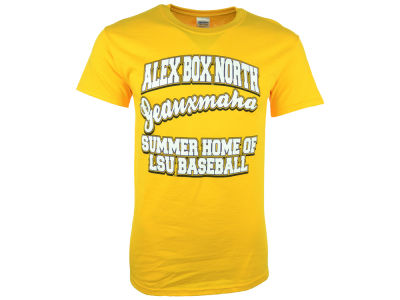 LSU Tigers NCAA Mens Alex Box North T-Shirt