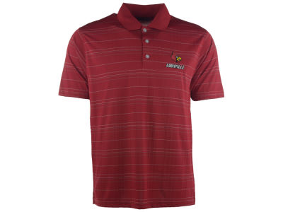 Louisville Cardinals NCAA Vansport Textured Polo