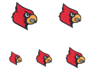 Louisville Cardinals Tattoo Nail