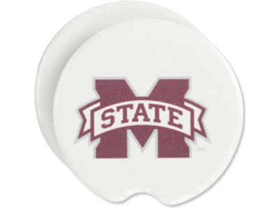 Mississippi State Bulldogs 2 Pack Car Coasters