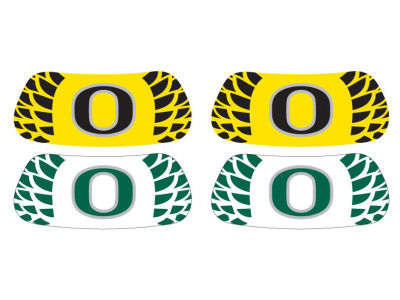 Oregon Ducks 2 Pair Eyeblack Sticker
