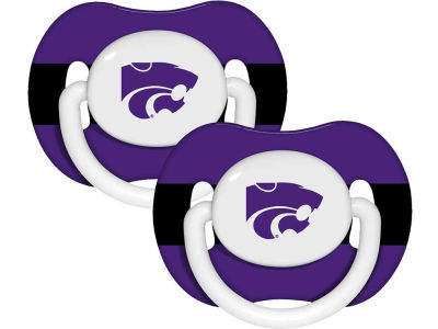 Kansas State Wildcats 2-pack Pacifier Set