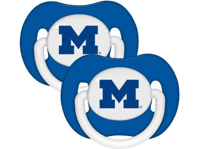 Michigan Wolverines 2-pack Pacifier Set