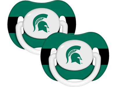 Michigan State Spartans 2-pack Pacifier Set