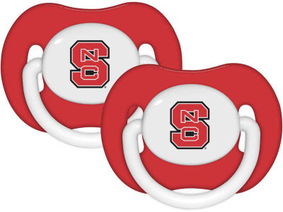 North Carolina State Wolfpack 2-pack Pacifier Set