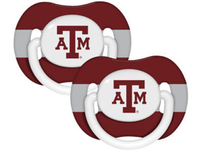 Texas A&M Aggies 2-pack Pacifier Set
