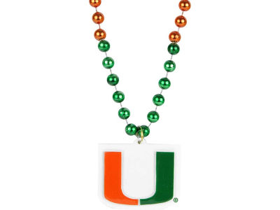 Miami Hurricanes Team Logo Beads-Rico