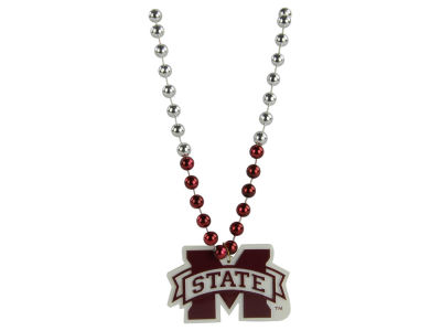 Mississippi State Bulldogs Team Logo Beads-Rico