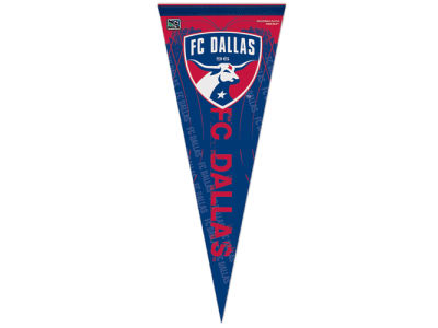 FC Dallas 12x30in Pennant