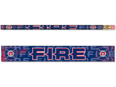 Chicago Fire 6-pack Pencils