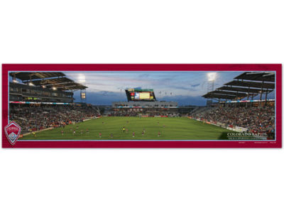 Colorado Rapids 9x30 Wood Sign
