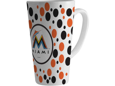 Miami Marlins 16oz Latte Mug