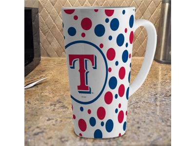 Texas Rangers 16oz Latte Mug