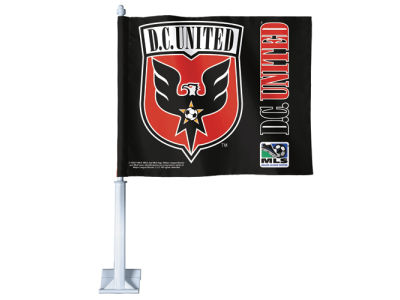 DC United Car Flag