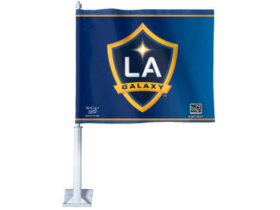 LA Galaxy Car Flag