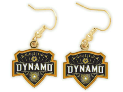 Houston Dynamo Dangle Earrings