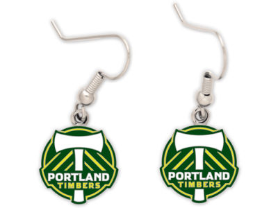 Portland Timbers Dangle Earrings