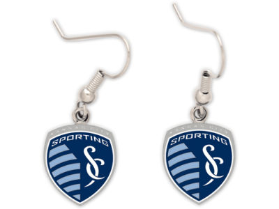 Sporting Kansas City Dangle Earrings