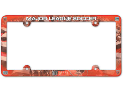 DC United Full Color Plate Frame