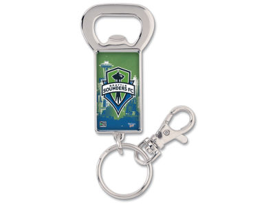Seattle Sounders FC Keychain Bottle Opener