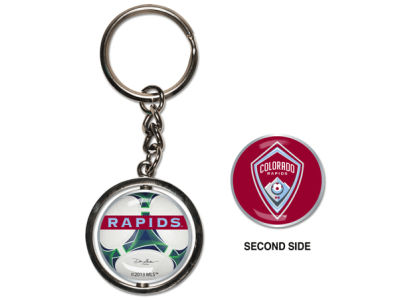 Colorado Rapids MLS Spinning Keychain