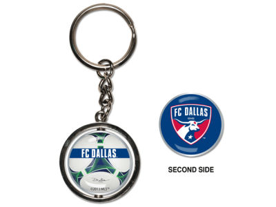 FC Dallas MLS Spinning Keychain
