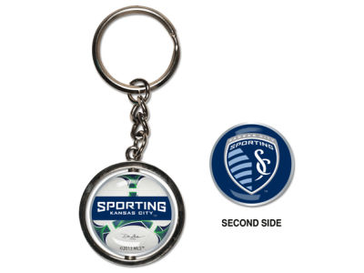 Sporting Kansas City MLS Spinning Keychain