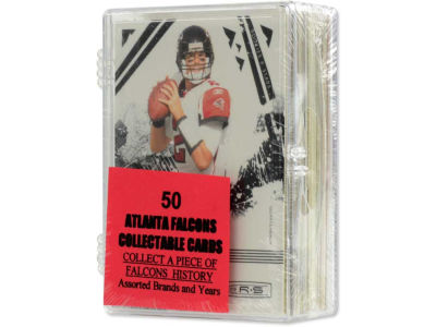Atlanta Falcons 50 Card Pack-Assorted