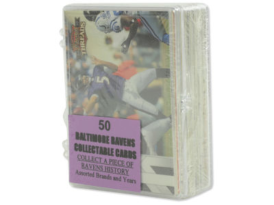 Baltimore Ravens 50 Card Pack-Assorted