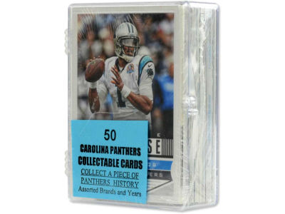 Carolina Panthers 50 Card Pack-Assorted
