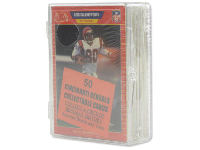 Cincinnati Bengals 50 Card Pack-Assorted