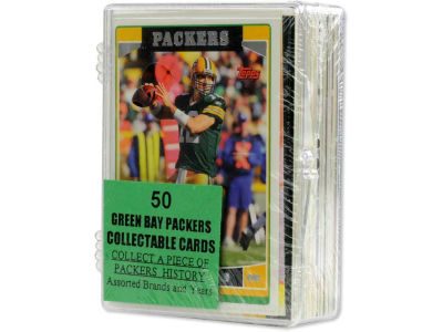 Green Bay Packers 50 Card Pack-Assorted